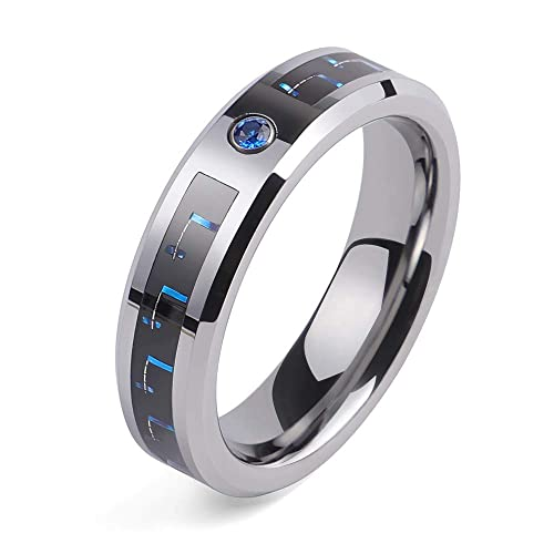 Amazon.com: 2People - Anillos de boda de tungsteno para ...