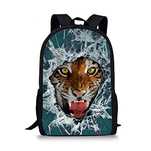 Cartable Fox 6 Tiger Noir Moyen 1 Chaqlin A7v6q7