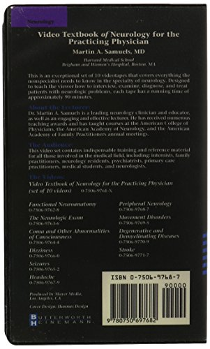 Video Textbook of Neurology for the Practicing Physician: Peripheral Neurology, 1e [VHS]