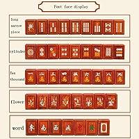Juegos de Mesa Mahjong PlayerHand Rubbing Mahjong Casa De Madera ...