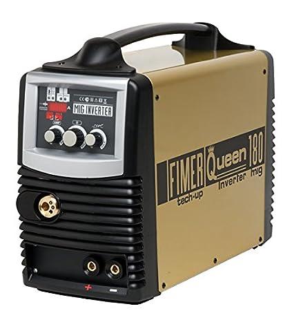 fimer Mig/Mag/electrodo/Wig Inverter de sudor dispositivo Queen 180 Domicilio