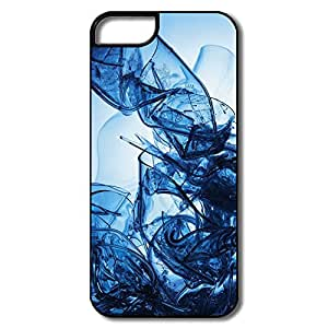 Blue Glass Pop Pc Case For IPhone 5/5s