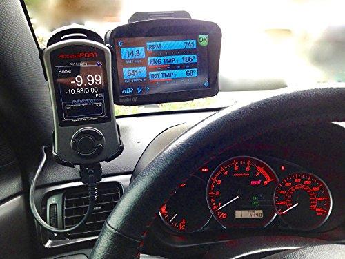 Shimontech Vehicle Mount For Cobb Tuning Accessport V3 Subaru Wrx//Sti 08-13 Impreza 2.5Gt 09-10