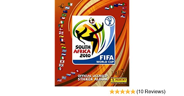 8f1bd16c7 Amazon.com: World CUP Africa 2010 Panini Complete Collection 640 Stickers  NEW: Toys & Games