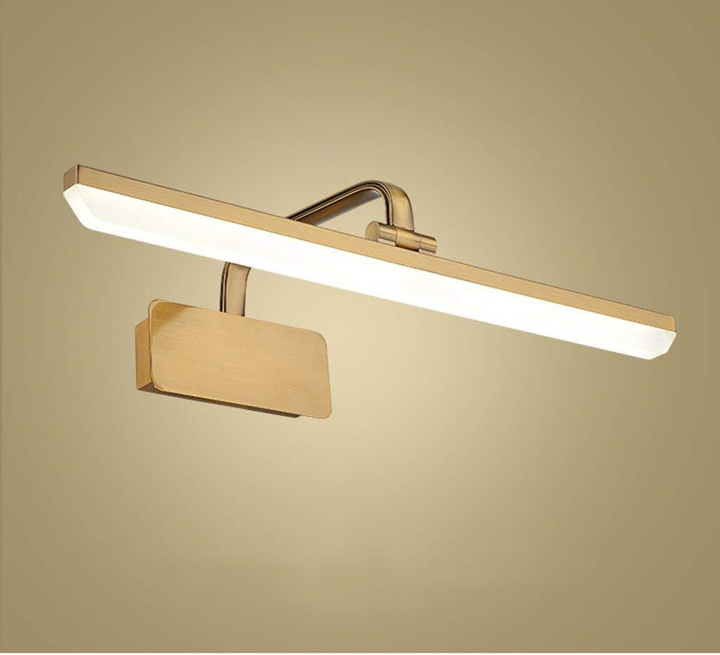 Weiß Light-14w 72cm Badezimmerspiegel Beleuchtung LED wasserdicht und beschlagfrei Spiegel Scheinwerfer, einfache Spiegelleuchte Bad Badezimmer Spiegelschrank Leuchte Make-up-Licht (Farbe  Weißes Licht-14 W 72