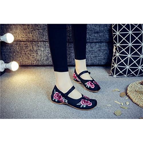 bc680b34 China viento bordado primavera/verano zapatos gruesos cómodos zapatos de  mujer Barato