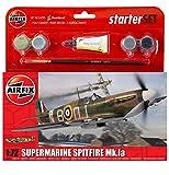 Airfix Supermarine Spitfire MkIa Starter Gift Set