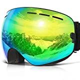 COPOZZ G1 Ski Goggles For Snow Snowboard Snowmobile Skate - For Men Women