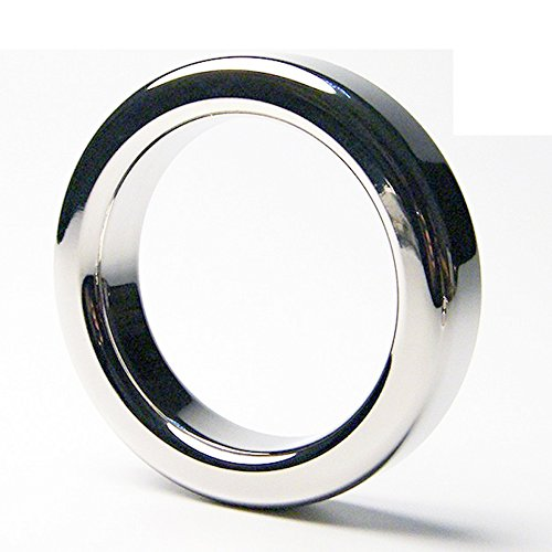Male-Stainless-Steel-Enhancer-Ring-ID-149161173185-Testes-Weight-Bearing-Mens-Metal-Device-Toys