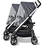 TraderPlus 2 Pack Baby Stroller Insect Netting Against Mosquitos, Dust and Insect for Baby Carriers Car Seats Cradles