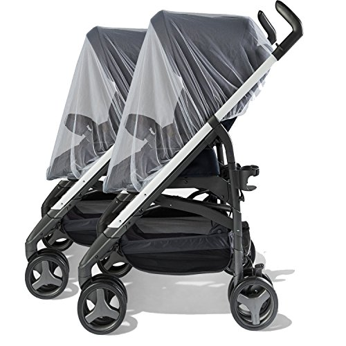 TraderPlus 2 Pack Baby Stroller Insect Netting Against Mosquitos, Dust and Insect for Baby Carriers Car Seats Cradles by TRADERPLUS