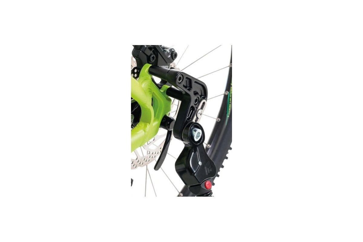 schwarz Disc-Adapter f/ür St/änder 0618 Zur Befestigung von Hebie St/änder 0618 an Fahrr/ädern mit Disc-Aufnahme IS2000 Lieferung ohne St/änder inkl HEBIE Adapter SB-verpackt Befestigungsschrauben