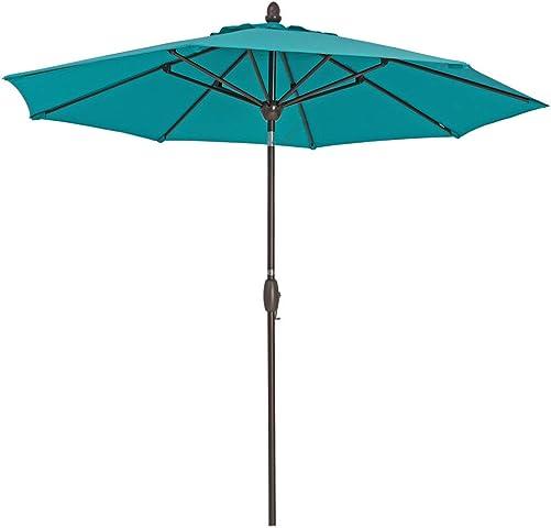 SORARA Patio Umbrella 9' Outdoor Table Market Umbrella