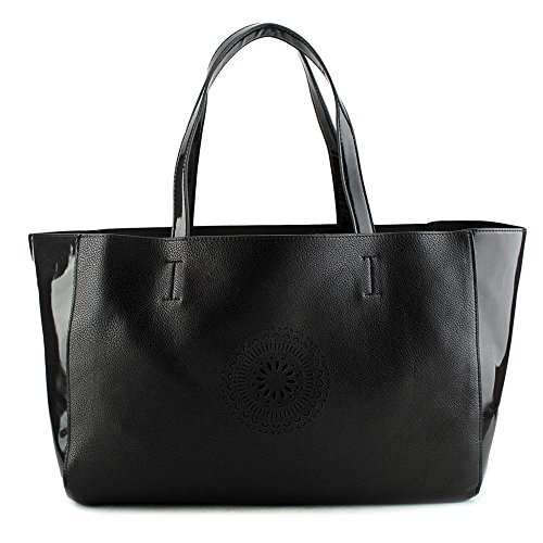 Buco Terry East/West Tote Donna Nero