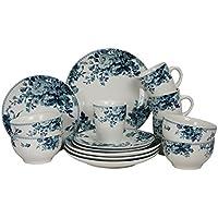 Elama Traditional 16-Piece Dinnerware Set