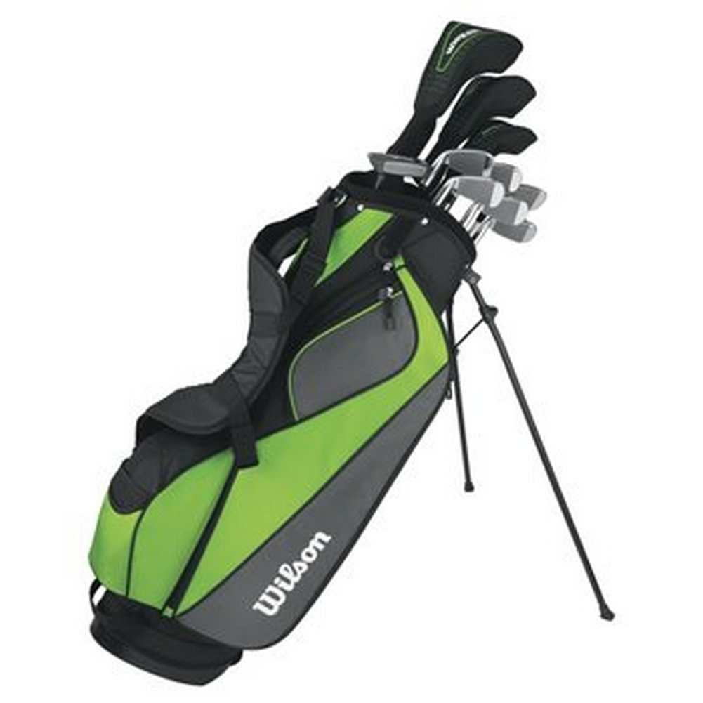 Wilson Mens Hyperspeed Complete Standard Golf Club Set & Bag WGGC47310 (Right)