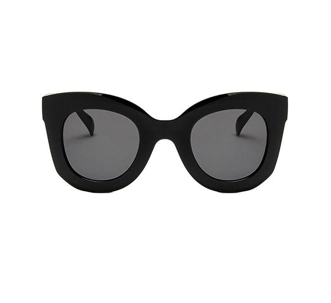 Ketamyy Mujer Retro De Moda Oversized Gafas De Sol Salvaje ...
