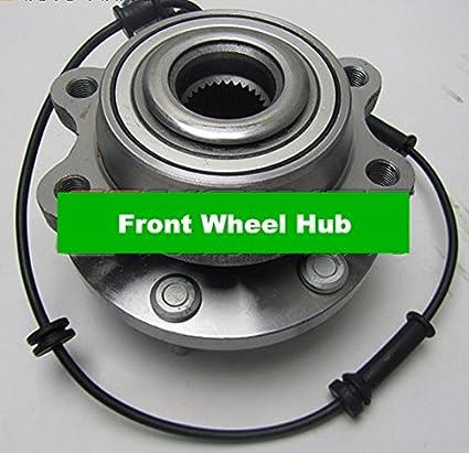 GOWE completo cubo de rueda delantera con rodamientos ABS Sensor de la escobilla para Nissan Navara