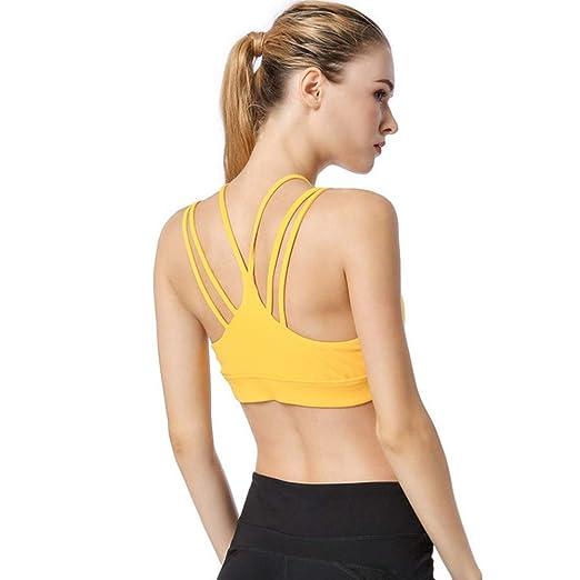 Camiseta de entrenamiento de yoga para mujer Entrenamiento ...