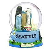Fun Seattle Snow Globe (3.5 Inch) Souvenir Snowglobe from Seattle Washington