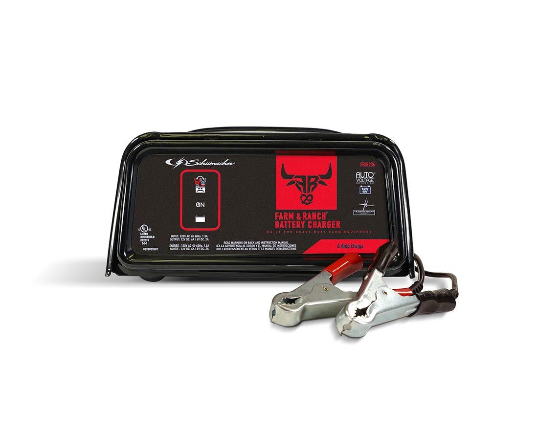 Schumacher FR01236 2/6A 6/12V cargador de batería automático ...