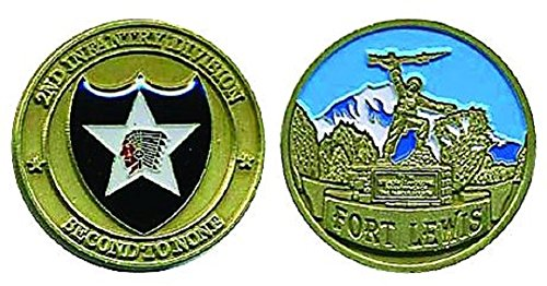(Fort Lewis 2nd Infantry Division Challenge Coin )