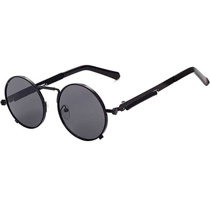 Steampunk Goggles Sunglasses Men Women Luxury Brand Sun Glasses For Ladies Retro Trend Classic Punk Vintage Male Oculos ASEYyu