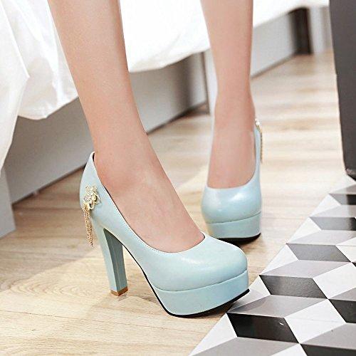 Heels Womens Womens Light Latasa High Heels Platform Platform Dress Latasa Pumps High Blue XqO8x
