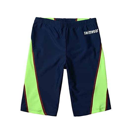 9103d68bb81c Boys Swim Shorts UPF 50+ Sun Protection Jammer Quick Dry Swimsuit  Compression Swimming Shorts 4