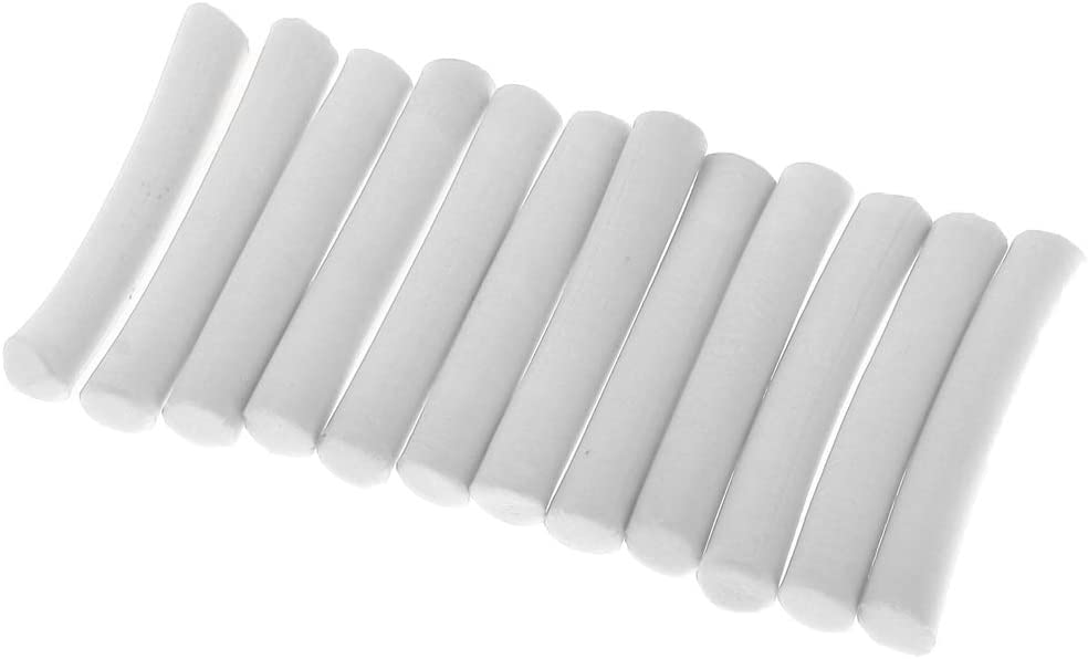 12PCS//Pack High Density Cylinder Foam For Fishing Float Making Fly Tying Rig Making DIY Fishing-Accessories