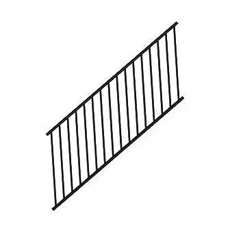 Amazon.com: american-made aluminio escalera raling Panel 6 ...