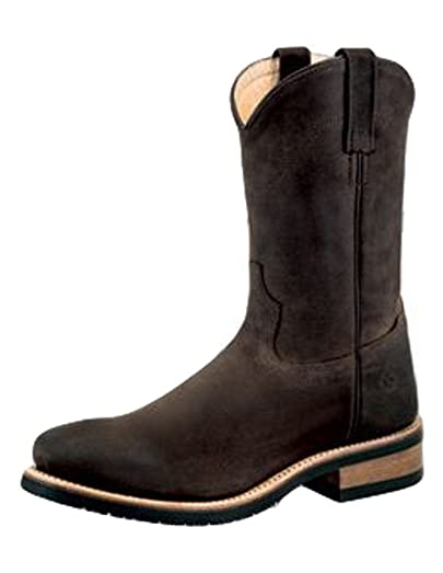 Old West Boots Men's MB2061 Distress Brown Boot