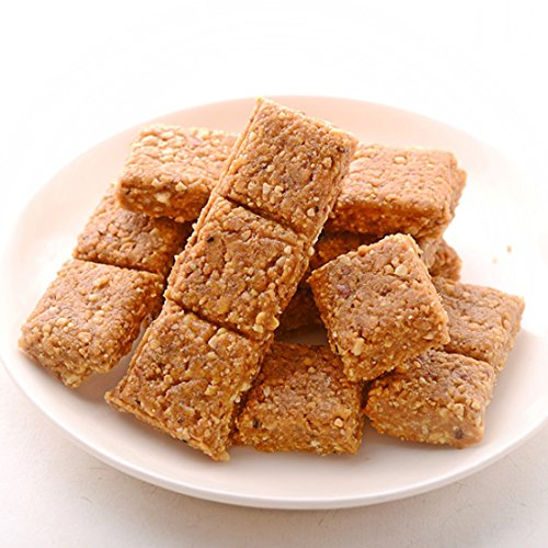 Maganlal's (Pune) Crushed Groundnut Brittle Indian Chikki - 200 -