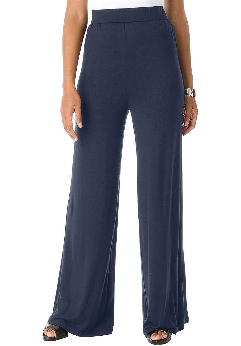 Jessica London Women's Plus Size Palazzo Pants