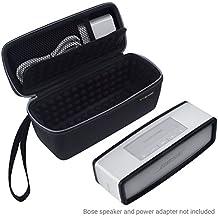 [Patrocinado] ECO-FUSED. Estuche para bocina Bose Soundlink Mini 1y 2diseñados para proteger y transportar. Con interior acolchado con burbujas.Bolsillo de malla para almacenar adaptador de alimentación.