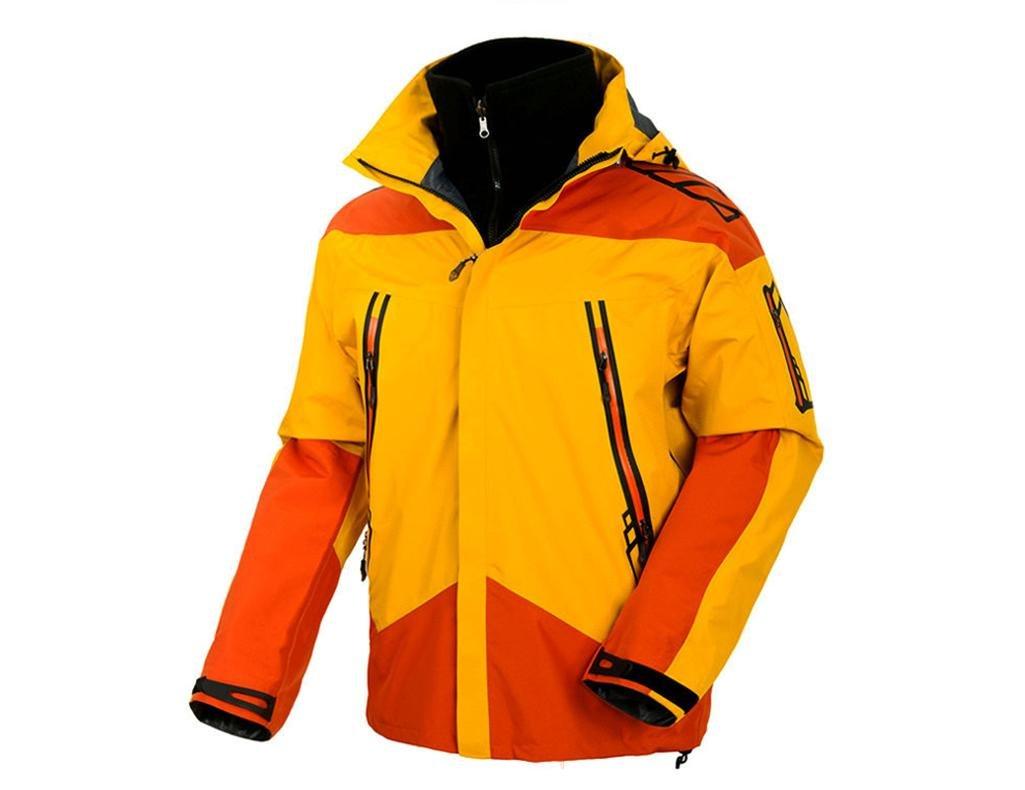 ZHEN Zweiteilige im freien Warm Bergsteiger Sportswear Herren Venture Jacket