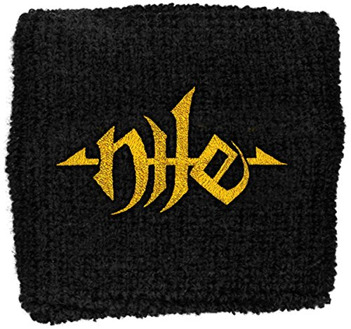 Nile Gold Logo New Official Cotton Sweatband