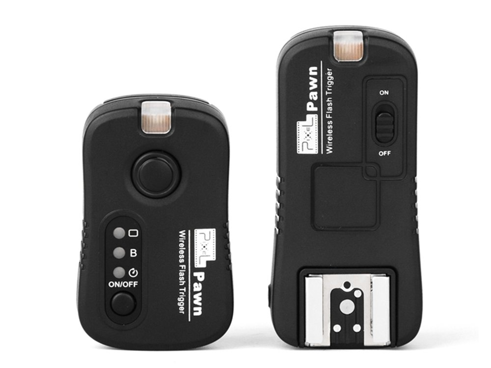 Pixel TF362 2.4GHz 100m Multifunctional Wireless Flash Trigger for Nikon Camera/Speedlite Flash Grouping (Have Wireless Shutter Remote Control Function)