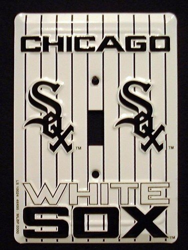 Chicago White Sox Light Switch Covers (single) Plates LS10024 (Chicago White Sox Light)