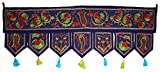 Ethnic Handmade Indian Designer Toran Door Hanging Traditional Wall Hanging Wall Decor Size 39 x 14″ inch For Sale