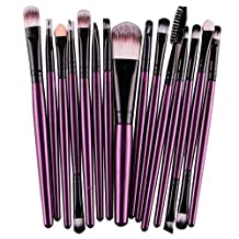 15 pcs/Sets Makeup Brushes Tool,Changeshopping Eye Shadow Foundation Eyebrow Lip Brushes