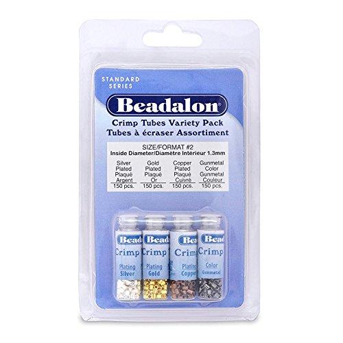 Beadalon Crimp Tubes VP Size 2 600pc