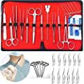 29 pcs Dissection Dissecting Tools Kit Set, Advanced Biology Anatomy Medical Students, Professionals, Anatomy,Botany, Zoology, High Stainless Steel Quality with Scalpel Knife Handle Blades