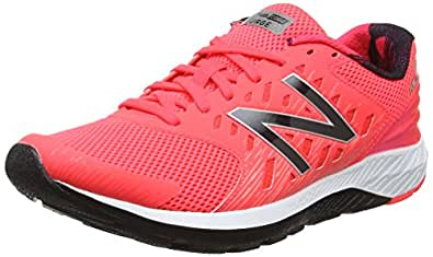 New Balance Women's FuelCore Urge Running Shoes, Black/Pink, EU 41 1/2
