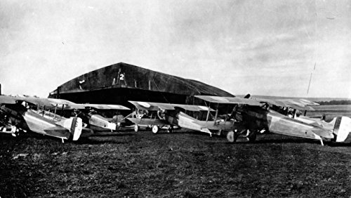 Home Comforts Laminated Poster Colombey-les-Belles Aerodrome1st Air Depot SPAD Aircraft Source: Series 1, Paris Headquarters and Vivid Imagery Poster Print 24 x 36