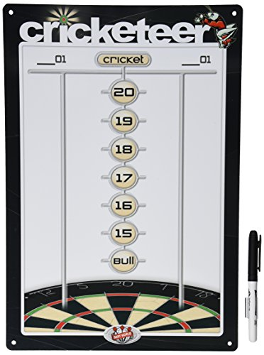 Dart World Cricketer Dry Erase Dart Scoreboard (Medium) ()