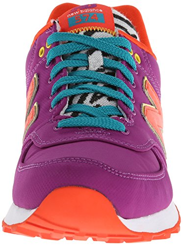 New Balance WL 574 PY Schuhe purple-yellow-orange - 40