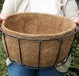 CASE/10 16'' SINGLE BASIC BASKET PLANTER LINER (NO HOLES) not include Basket Planter