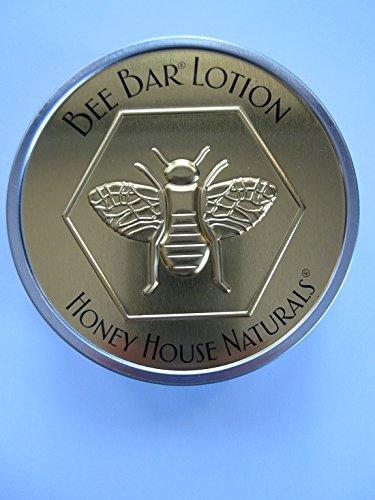 Медовый дом ваниль душистые пчела природных твердых лосьон бар 2 унции - новое в золото & серебро тиснением олово дело
