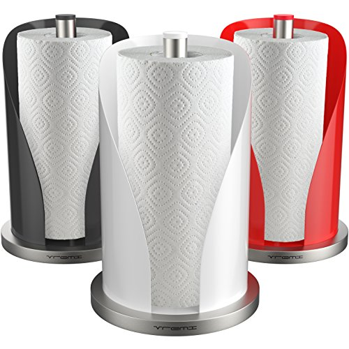 Vremi Vertical Paper Towel Holder For Kitchen Countertop 12 Inch